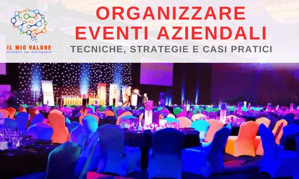 corso online organizzazione eventi